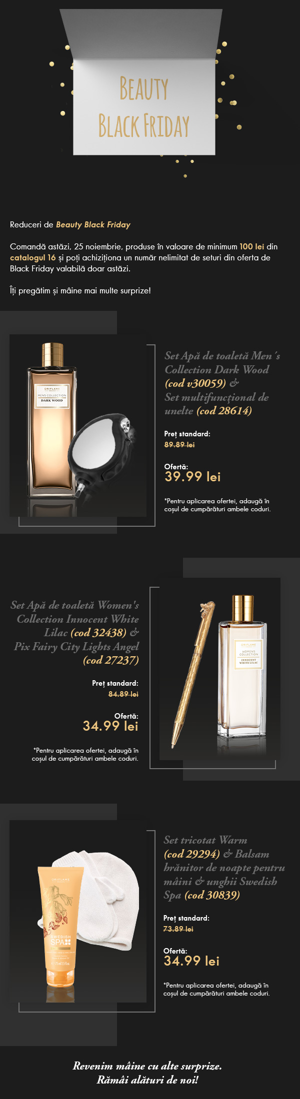 Black Friday Oriflame 2016